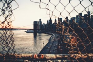 Manhattan Bridge, Brooklyn, NY, EUA