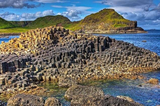 Praia da Calcada dos Gigantes Irlanda