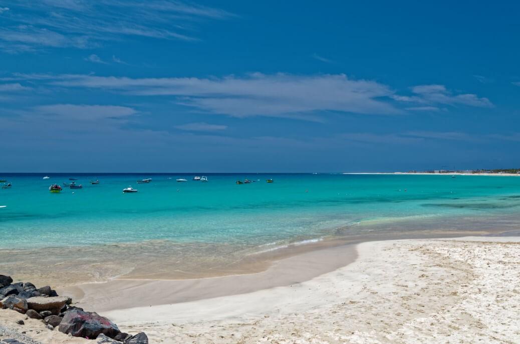 beautiful sand beach scene on the island sal cape verde t20 YwJ3oR