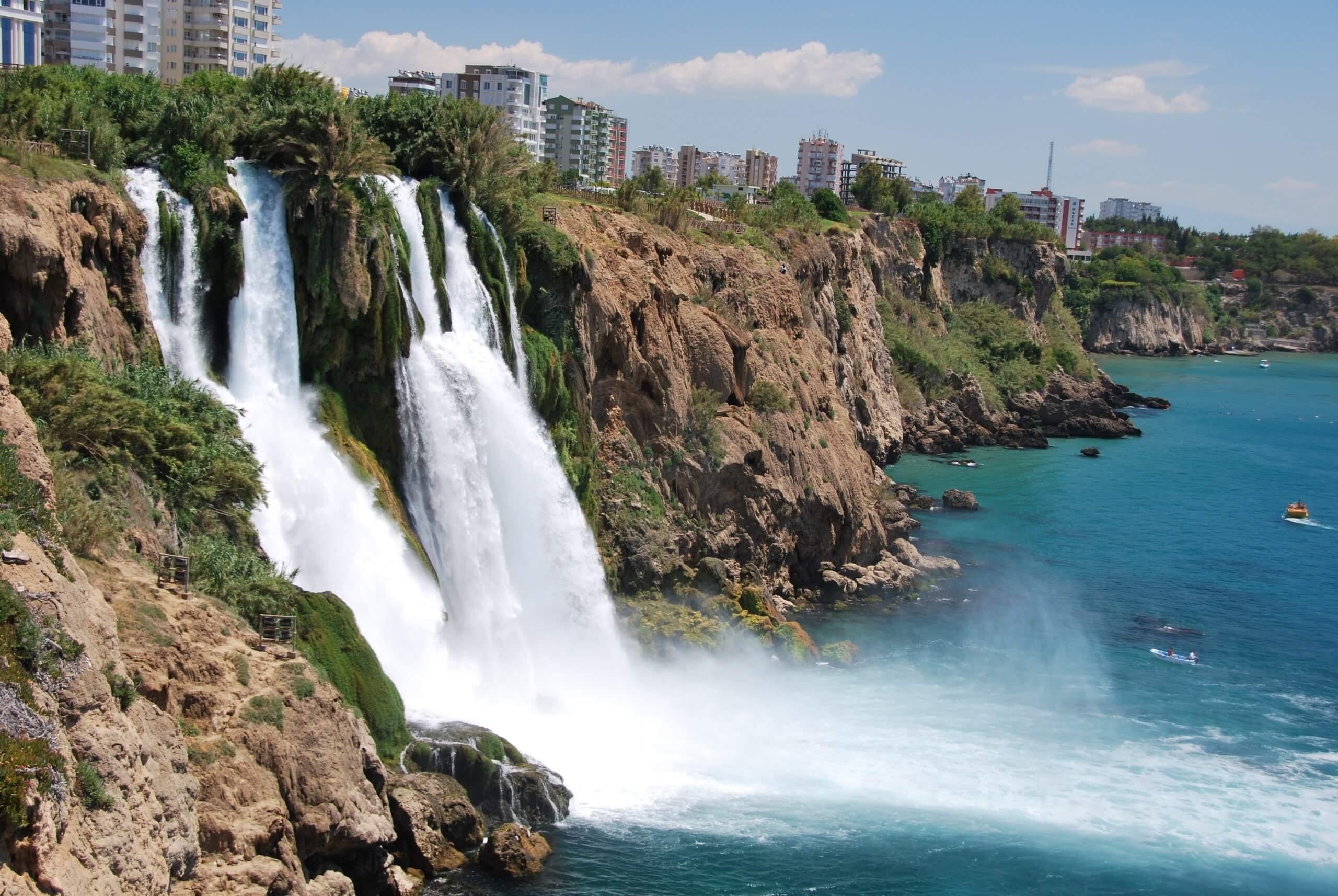 duden waterfall upper duden national park antalya turkey splashing water nominated t20 QKmYrk scaled
