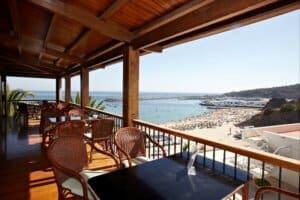 Esplanada do Restaurante do Hotel do Mar