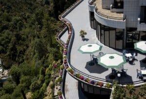 Esplanada no Hotel Mira Corgo